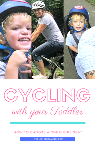 Tips for cycling with your toddler