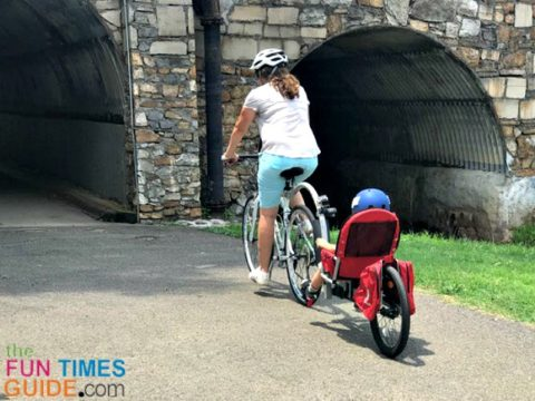 Cycling with my toddler