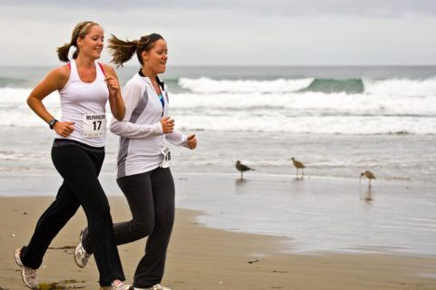female-triathletes-in-training-by-mikebaird