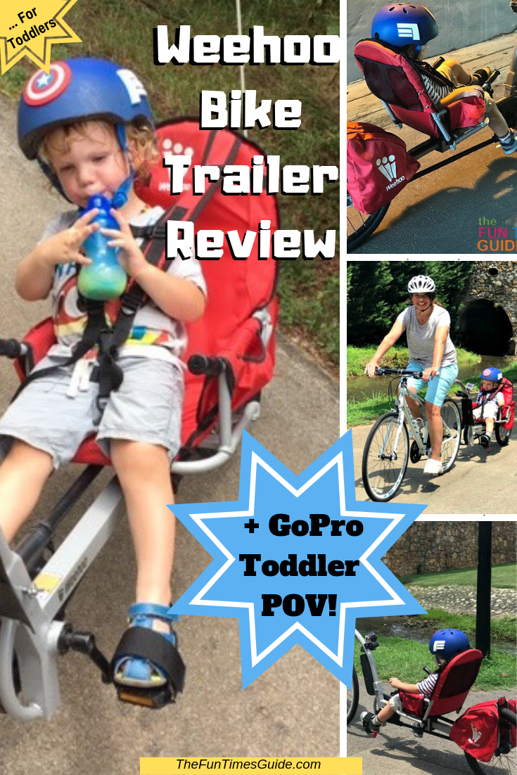 Looking For A Bicycle Trailer For Your Child? We Bought A Weehoo Bike Trailer... And We Absolutely LOVE It!