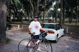 this is my new lightweight trek 730 - bought 12/9/95