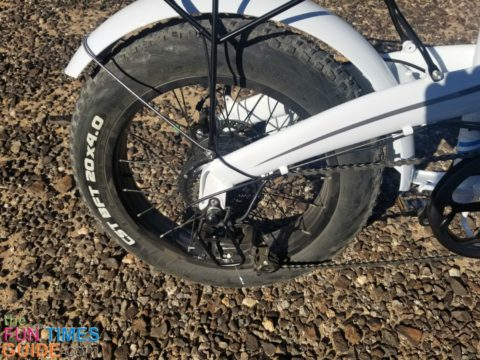 The Lectric XP ebike is a powerful bike that exceeds my personal speed limits!