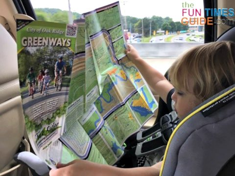 Tennessee greenways map