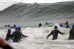 Dealing With Wind And Waves During Triathlon Swim Training And Competition