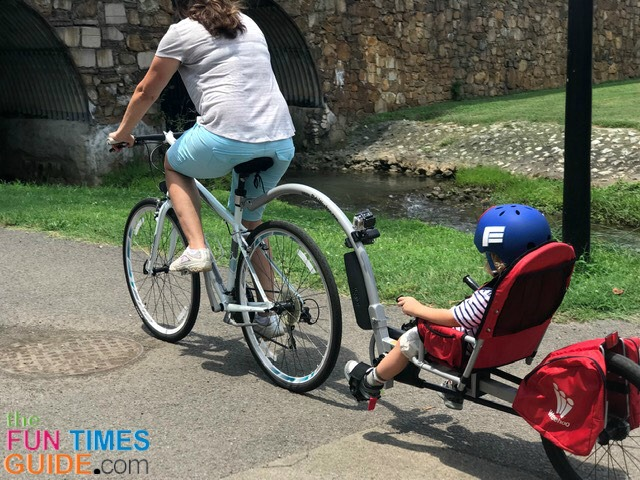 Looking For A Bicycle Trailer For Your Child? We Bought A Weehoo Bike Trailer… And We Absolutely LOVE It!